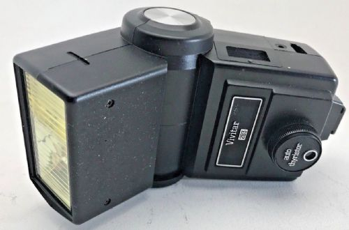 VIVITAR 283 ON CAMERA FLASHGUN WITH MANUAL A AUTO FUNCTIONS